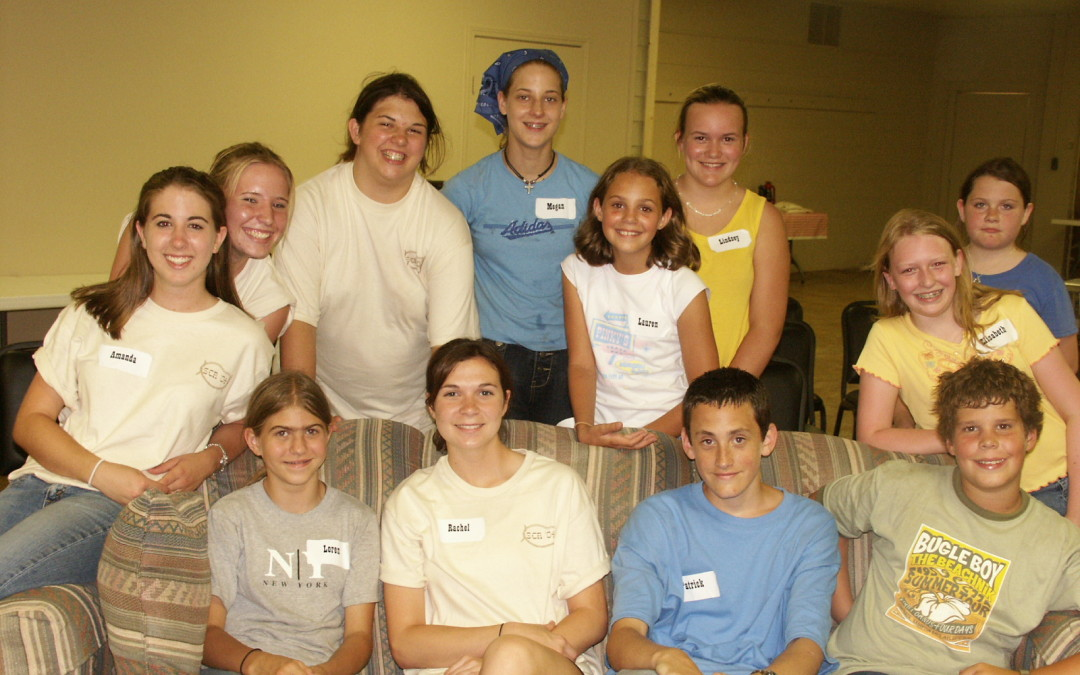 "First group of campers – ""Horse Camp"" 2004"